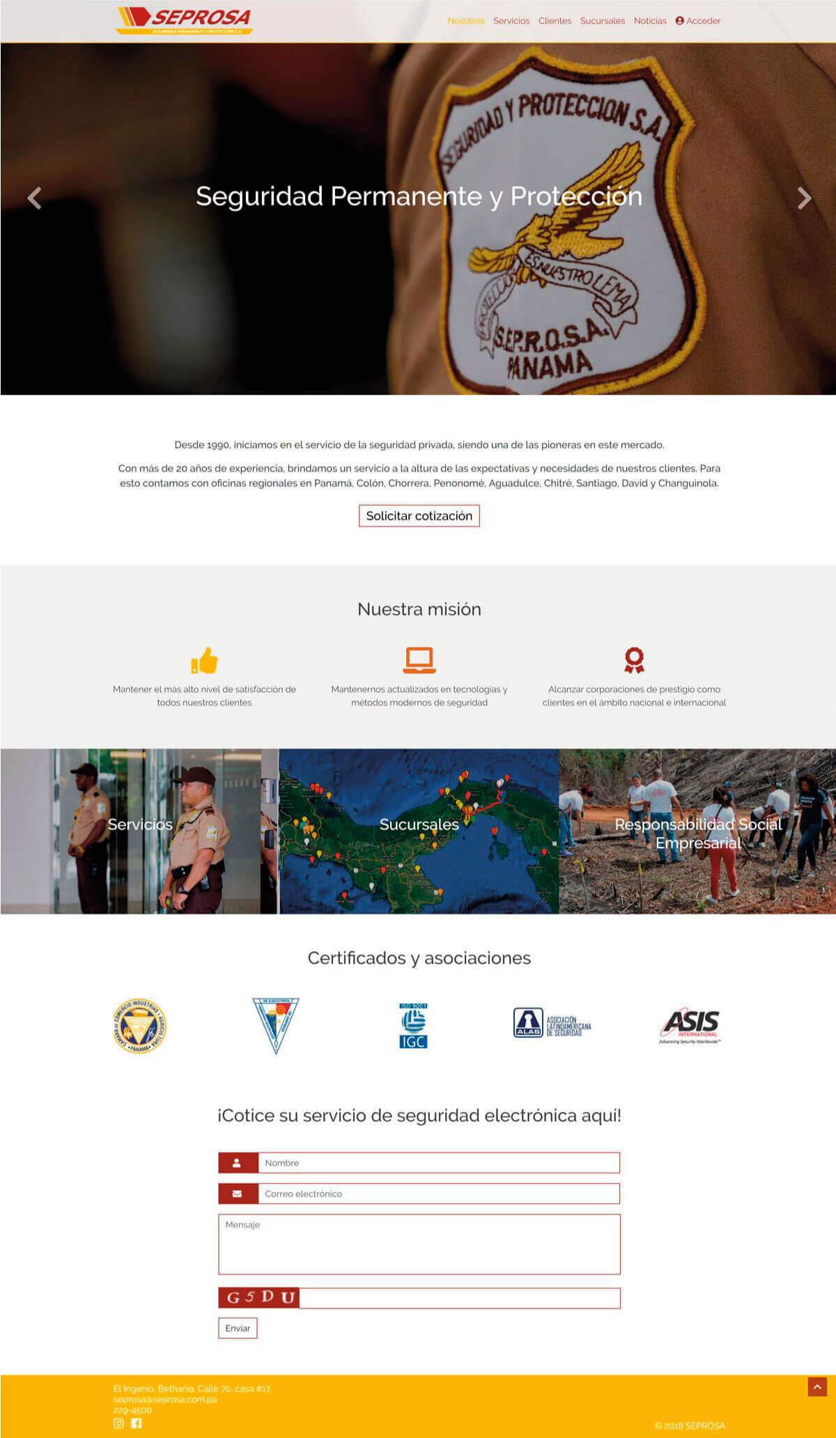 Plantilla Seprosa Ricardo Bruzual Web